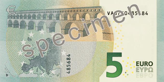 Caracteristiques Des Euros Billets