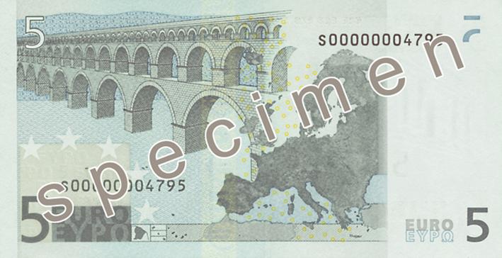 billet de 5 euros 2002