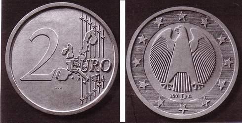 Concours Des Pièces Euros Allemagne